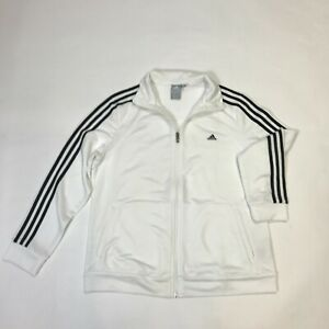 ADIDAS-Blanc-Homme-Climalite-Pull-Taille-L-XL-G138