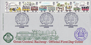 12 MARCH 1980 LIVERPOOL amp MANCHESTER RAILWAY GCR FIRST DAY COVER LOUGHBOROUGH SH - <span itemprop=availableAtOrFrom>Weston Super Mare, Somerset, United Kingdom</span> - If the item you received has in any way been wrongly described or we have made a mistake regardless of the nature we will pay your return postage costs. If however the - Weston Super Mare, Somerset, United Kingdom