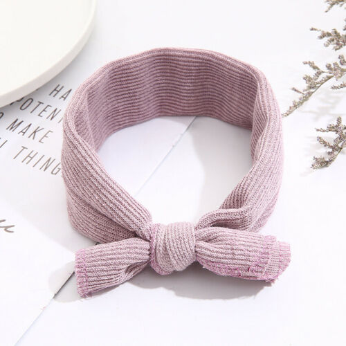 Baby Cotton Soft Head Wrap Turban Top Knot Headband Newborn Girls Accessories