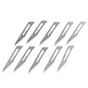100pcs-11-Blades-Carbon-Steel-Surgical-Scalpel-Blade-Knife-For-Graver-PCB-Art