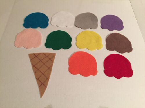 Ice Cream Felt Flannel Board Story Teachers Resourse