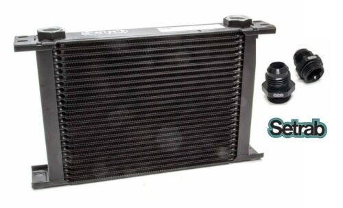 FREE SHIP! SETRAB OIL COOLER P//N  625 P//N 50-625-7612 with FITTINGS 25 ROW