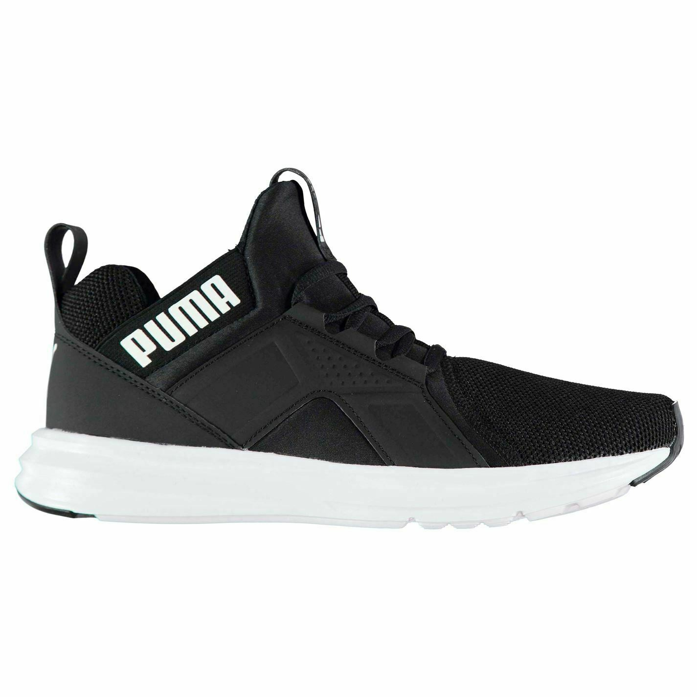 Puma Enzo Mesh Runners Trainers Mens Black Athletic Sneakers shoes