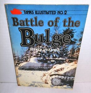 BOOK-Arms-amp-Armour-Press-Tanks-Illustrated-2-Battle-of-the-Bulge-by-S-Zaloga-op