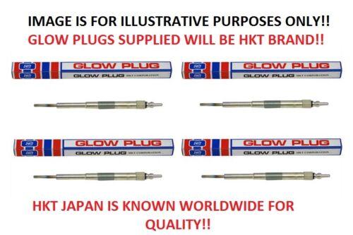 X4 bougies de préchauffage 1//1998-11//2001 heure du Japon pour Nissan Navara D22 2.5TD TD25