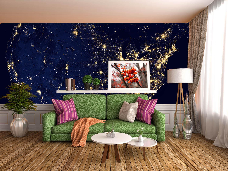 3D Die Highlights der Nacht 3 Fototapeten Wandbild Fototapete BildTapete Familie