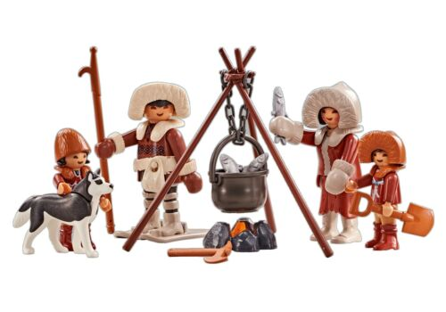 Playmobil Add On #6559 Arctic Family New Factory Sealed