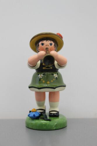 388-307h0072 Hubrig Musikkind Mädchen mit Klarinette