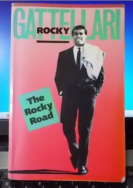ROCKY GATTELLARI : The Rocky Road : A/Bio - Boxer : S/C 1989 SCARCE 💥CHEAP POST
