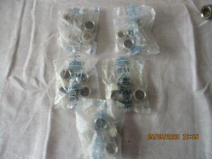"""LOT d Écrous laiton hexagonal à serrage - F 1/2"""" - Ø 14 mm - Rapido - RBM   c25"""