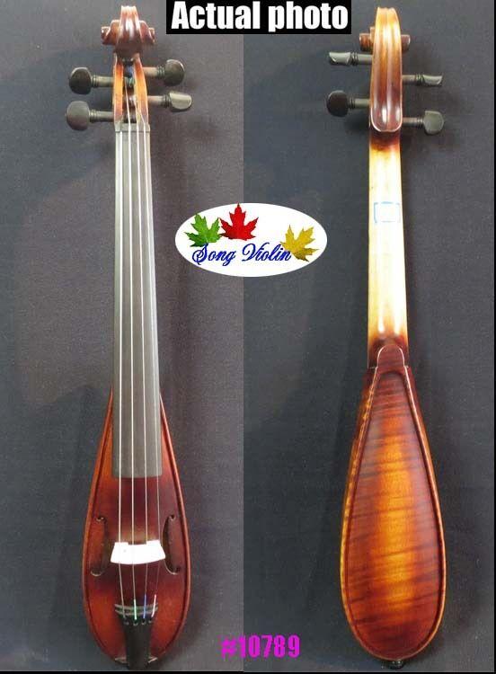 Baroque style fancy Pochette SONG brand violin 7 3 4 ,resonant sound  10789