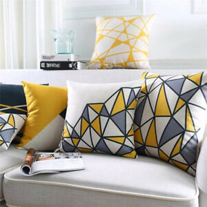 Am-Geometric-Pattern-Square-Rectangle-Pillow-Case-Cushion-Cover-Car-Sofa-Bed-Br