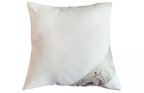 Kissen Kopfkissen Kleinkissen aus Perkal 100/% Baumwolle Traum Silver Lux 40x40cm