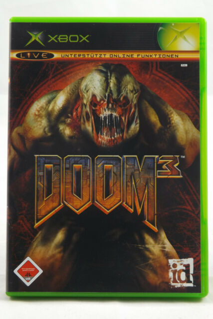 Doom 3 (Microsoft Xbox) Xbox Classic Spiel in OVP, PAL, CIB, TOP, neuwertig