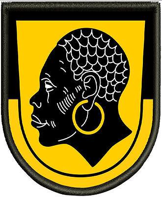 Patch Aufnäher Pin Wappen von Coburg Aufbügler.