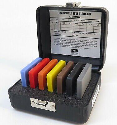 Rex TBK-A Type A Durometer Test Block Kit