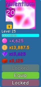 Roblox Bubble Gum Simulator Pets Valentium Max Level Max Enchant Ebay