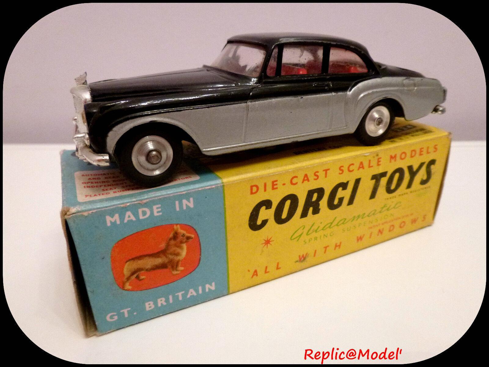█▓▒░  1 43 bentley continental sports saloon corgi toys 224 + box  ░▒▓█