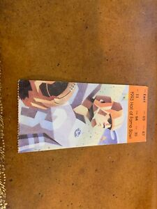 1993 Hall of Fame Bowl Football Ticket Tennessee Vols v ...