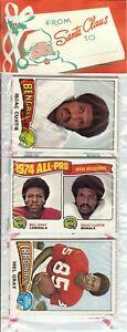 1975 Topps Football Holiday Christmas Rack Pack HOF Rookie RC Lynn Swann Poss?$$