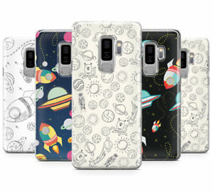 newest ebf65 886bc Details about SPACE COSMIC SOLAR THEMED PATTERN PRINT MOBILE PHONE CASE FOR  SAMSUNG GALAXY S9