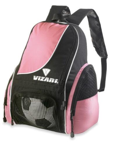 NEW Vizari Solano Soccer Backpacks //Navy Blue//Royal Blue//Pink//Black//Red