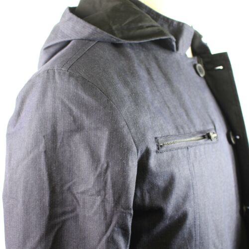 179 Reaction E6101 M Zip Cole And Indigo Hoodie Button Mens front 887692772572 Kenneth CwxpRBFqF