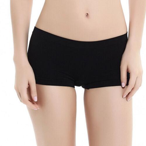 Women Underwear Boxers Panties Sports Breathable Boyshort Yoga Seamless