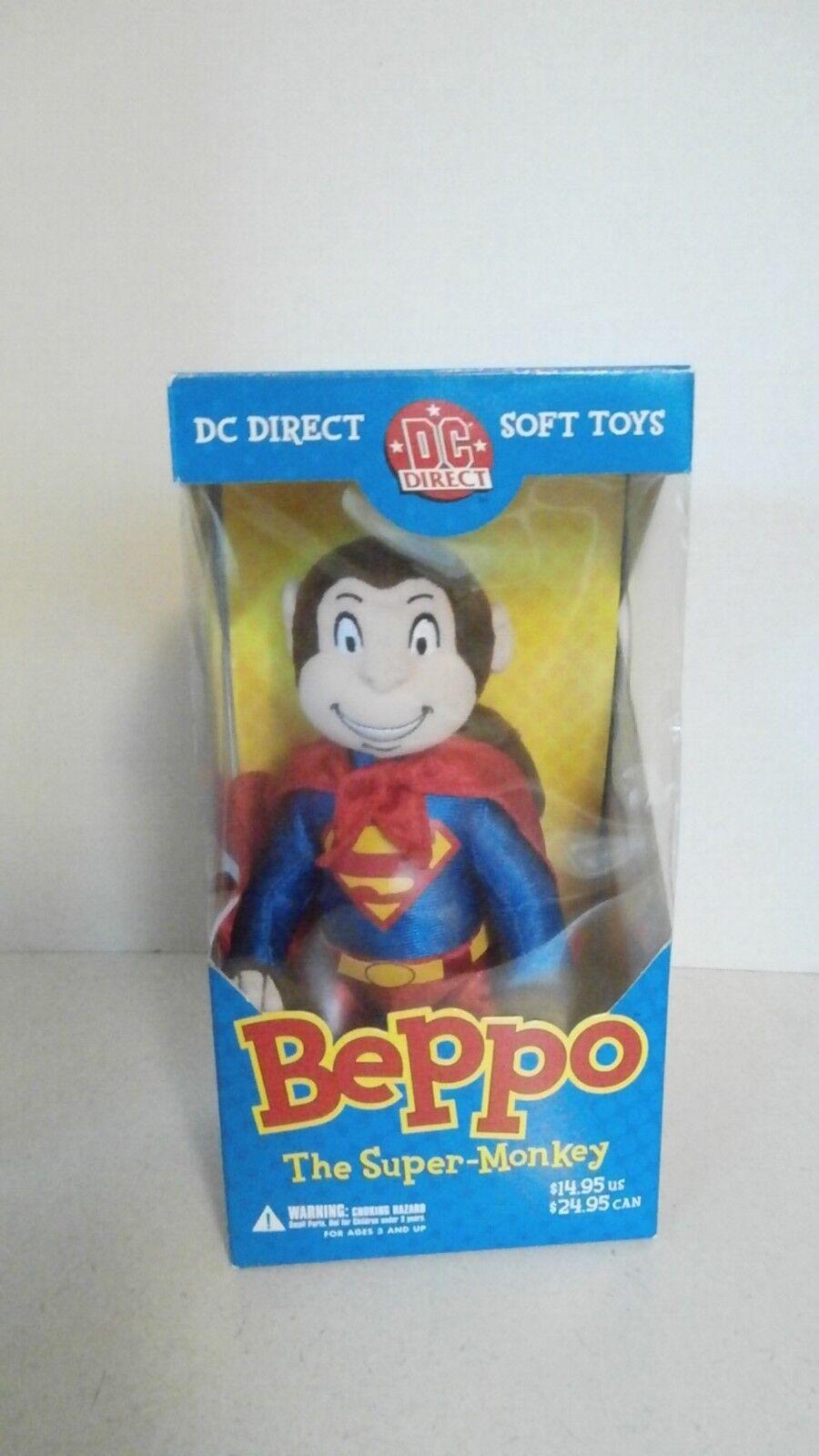 DC Direct BEPPO  the super-monkey soft toy superhomme's pet monkey  livraison gratuite