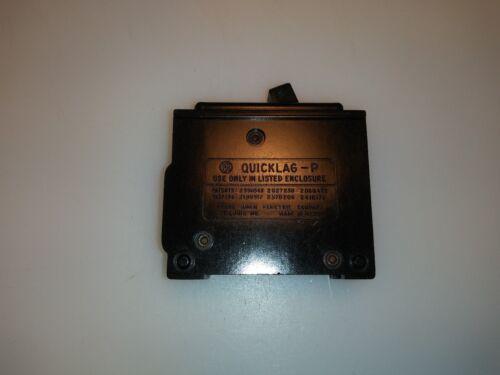 FRANK ADAM 20 Amp 1 Pole Quick Lag P 120//240 volt Circuit Breaker QUICKLAG-P