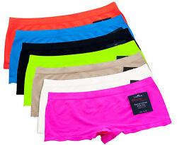 2er Pack Damen Microfaser Panty Hipster Shorts Slip Unterwäsche Dessous Hotpants