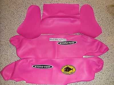 Kawasaki 650-SX Jet-Ski Hydro-Turf Pad Rail Cover Kit sew65k Pink In Stock