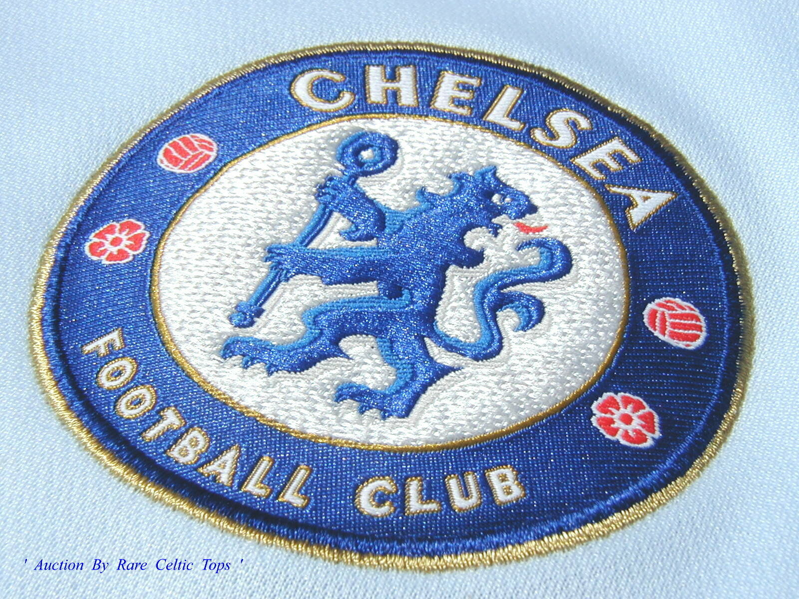BNWT Umbro Chelsea Footbtutti Club shirt CENTENARIO ANNO Player Issue CL uomoica lunga XXL