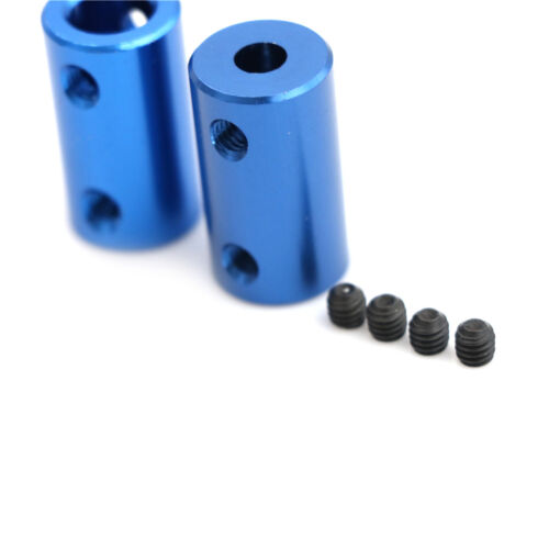 Aluminum Alloy 3D Printer Part Blue Flexible Shaft Coupler Screw Part 5mm 8mm TO
