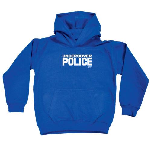Undercover Police Funny Kids Childrens Hoodie Hoody