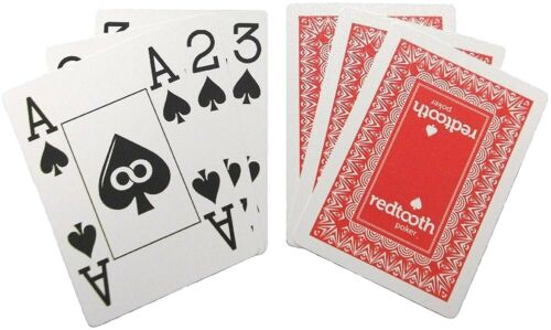 Redtooth© Professional Poker Casino Quality Playing Cards Free P/&P