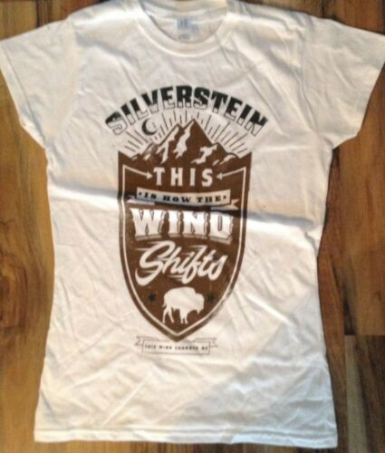 lady/'s Ex Store official silverstein this is how wind shifts T Shirts
