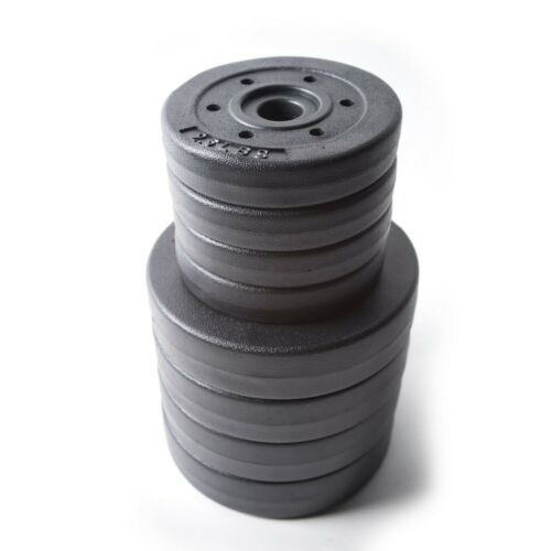 NEW Gold/'s Gym 40lb Vinyl Dumbbell Weight Set Adjustable *IN HAND SHIPS TODAY*