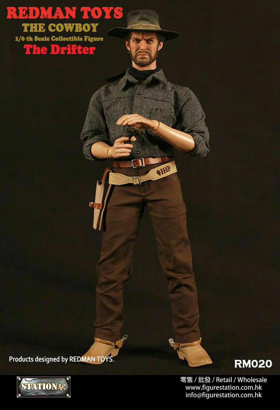 High Plains Drifter Clint Eastwood rossouomo 1 6 MIB