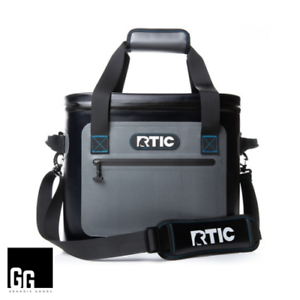 New RTIC Cooler Bag—Insulated Tan Hunting Back Pack—Holds 30 Cans—Fast Shipping!