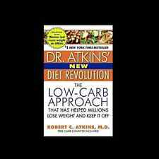 The Dr Robert Atkins New Diet Revolution a paperback Low carb approach FREE SHIP