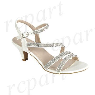 New girl/'s kids beads formal dress wedding shoes White rhinestones wedding