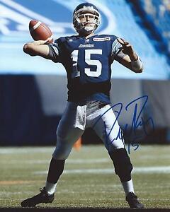 Ricky-Ray-Signed-8x10-Photo-Toronto-Argonauts-Autographed-COA