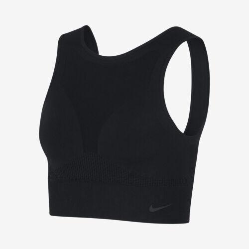 Damen Trainieren Tank Neu 930389 Nike Schwarz Sportkleidung 010 7yYbf6gv