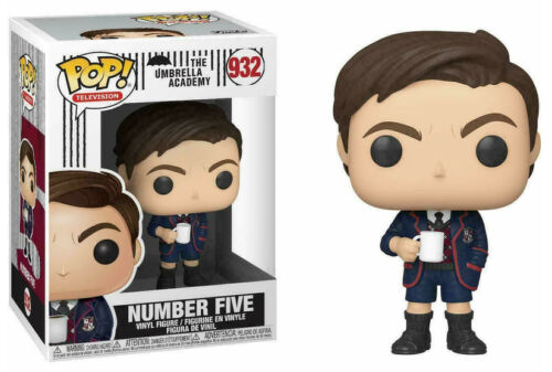 Funko Pop Umbrella Academy NUMBER FIVE #932 Pop Vinyl Figure NEW /& IN STOCK NOW