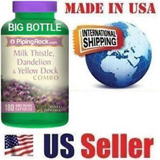 Milk Thistle, Dandelion & Yellow Dock, Beet Root - Liver Purifier - 180 Capsules