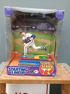 STARTING LINEUP STADIUM STARS 1999 SERIES ROGER CLEMENS TORONTO BLUE JAYS N.O.S.