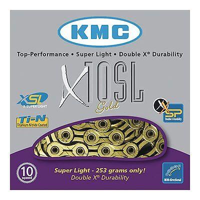 KMC Cadena dorada  X-10 SL 10v ORO