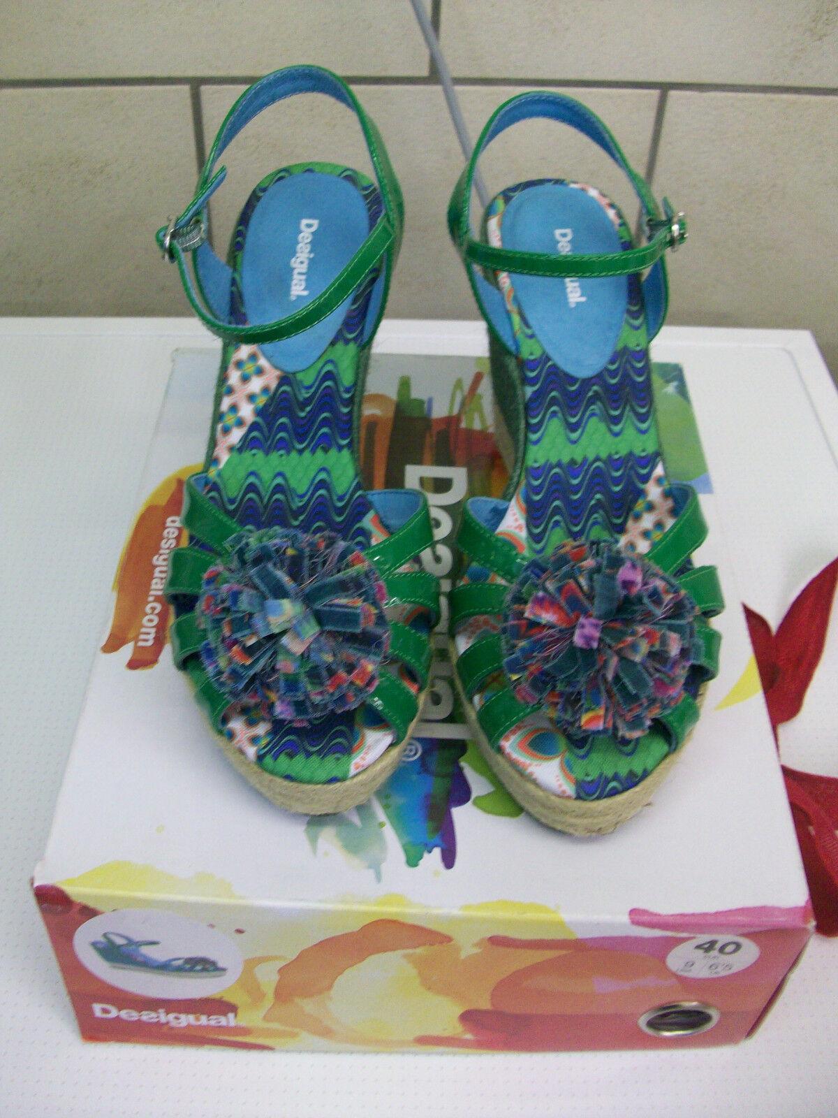 Desigual Sandaletten- fast neu aus 1 x getragen direkt aus neu Barcelona 76f269