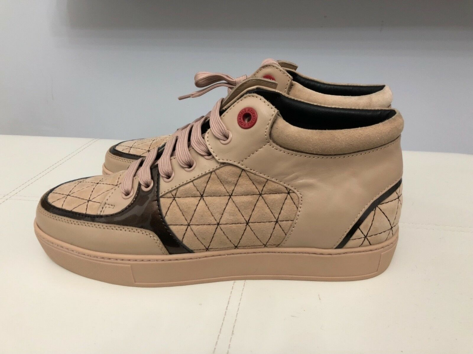 AUTHENTIC ROYAUMS STUNNING SNEAKERS MODEL MARION IN STUNNING ROYAUMS SUEDE LEATHER UK SIZE 8 11c295